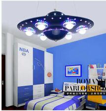 Spaceship LED Chandelier Pendant UFO Lamp Child Kid's Bedroom Home Decor Lamp