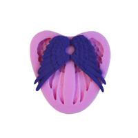 3D Angel Wings Style Silicone Mold Fondant Chocolate Sugar Craft Cake Decor Tool