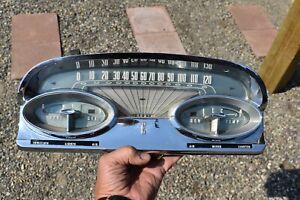 1959 Ford EDSEL Speedometer and Gauge Cluster NICE Original B9KF-17255-D