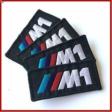 BMW M1, Msport, DTM sew-on Jacket patches (4 pieces)