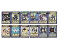 DIGIMON DIGI-BATTLE BOOSTER SERIES 5 - COMMON UNCOMMON NON-FOIL RARE 48 CARD LOT
