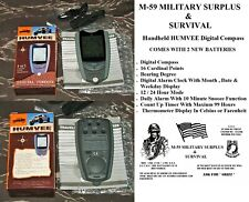 HUMVEE BRAND Handheld Digital Compass With Batteries - Hiking/Camping/Survival