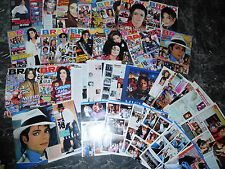 MICHAEL JACKSON  318  TEILE/PARTS 1,2 KILO  CLIPPINGS LOT   0317