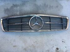 Mercedes W107 All Metal Star Grille Grill Early 1973 450SLC 450SL 380SL 560SL