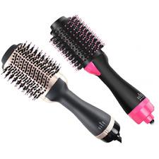 Hair Dryer One Step Brush Hot Air Comb Revlon Straightening Curling Iron Salon