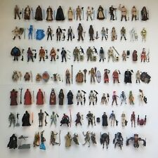STAR WARS Vintage Figures Complete w/ Weapons Lot Collection Kenner