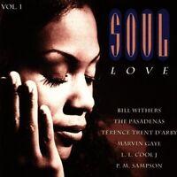 Soul Love 1 (Sony) Oran 'Juice' Jones ('Rain'), Gregory Abbott, Bill With.. [CD]