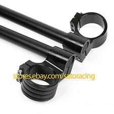 CNC Raised Clip Ons Fork Handle Bars set For Honda CBR929/954 2000-2003 50mm