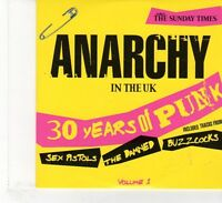 (FR219) The Sunday Times: Anarchy In The UK: 30 Years Of Punk, Vol. 1  - 2007 CD
