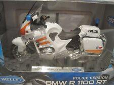 BMW R 1100 RT Polizei weiss/orange Motorrad 1:18 *NEU*