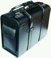 Leather Pilot Case Calf Leather Lockable, pockets on ends Interior Drivers
