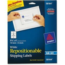 Avery Repositionable Labels 3.33x4 Box of 150