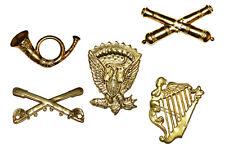 American Civil War 5 x Kepi Or Hat Full Size Metal Badges Gettysburg Shiloh ACW