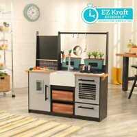 Kidkraft Granja a Mesa Juego Cocina con Ez Kraft Montaje de Madera para Niños