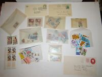 LOT OF WORLD WIDE STAMP LOT - BLOCKS, MINTS - UNSEARCHED - GLASSINES - OFC-1 #3