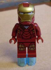Lego Superhelden - Iron Man Figur mit Dreieck auf der Rüstung Armor Avengers Neu