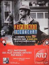 PUBLICITÉ RTL2 DEPALMAS EN CONCERT PARTENAIRE DES PLUS GRANDS ARTISTES POP-ROCK