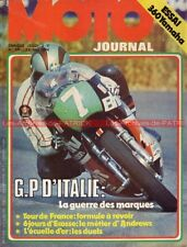 MOTO JOURNAL  171 YAMAHA DT 360 Grand Prix d'Italie ISDT Tour de France 1974