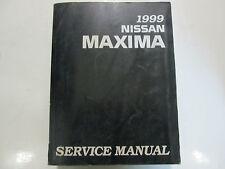 1999 Nissan Maxima Service Repair Shop Workshop Manual Factory OEM 1999