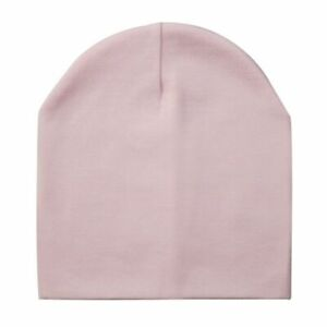 Baby Hats Cotton Solid Color Cap Children's Boys Girls Kid Winter Spandex Autumn