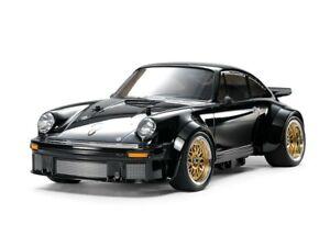 Tamiya 47362 1:10 4WD Porsche Turbo RSR TA02SW Black LED Edition RC Car Kit