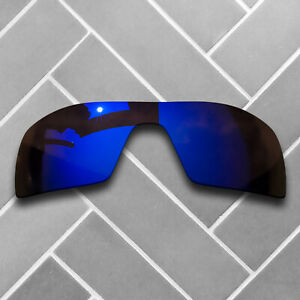 Violet Mirrored Sunglasses Replacement Lenses for-Oakley Oil Rig Polarized