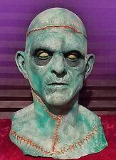 Halloween Horror Frankenstein Monster Prop Head & Hands - Haunted House SCARY!