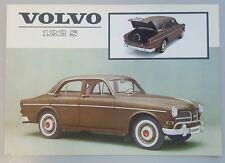 1962 Volvo 122 S original American sales brochure