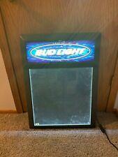 Budweiser Bud Light - Light Up Menu or Poster Board Sign - Palmer Dist Promo