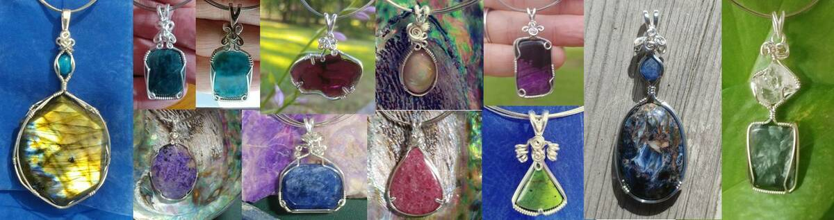 Crystal Moon Jewelry Designs