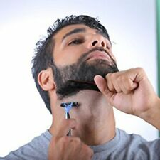 New Man Beard Shaping Styling Template Comb Hair Trim Tool Step Neck Cut Cool