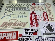 Fishing Decals wholesale  lot of (15) stickers,best selling stickers