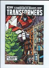 Transformers #39 Combiner Wars St Mark's Comics Retailer Exclusive Variant Cover
