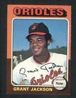 1975 Topps #303 Grant Jackson NM/NM+ Orioles 67190