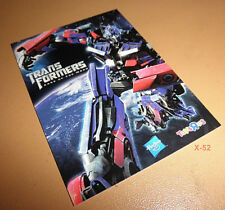 TRANSFORMERS 3 Dark of Moon TOYS R US trading card Exclusive OPTIMUS PRIME toy