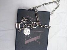 Authentic Armani Exchange Charm Pendant Necklace Chain