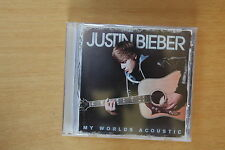 Justin Bieber – My Worlds Acoustic   (REF TS BOX 18)