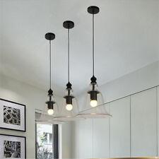 3X Glass Pendant Light Chandelier Lighting Kitchen Lamp Bedroom Ceiling Lights