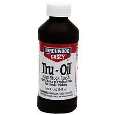 Birchwood Casey Tru-Oil 8 oz. Gun Stock Finish Wood Oil Protectant Truoil 23035