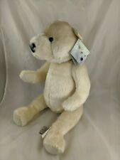 "Ditz Designs Polar Bear Plush 22"" Jointed Mohair Stuffed Animal Toy"