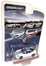 Greenlight 27920 C 60Th Anniversary 2013 Chevrolet Corvette Z06 1/64 Chase Car