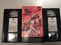 My Fair Lady (VHS, 2-Tape Set - 1986 edition) Audrey Hepburn and Rex Harrison.