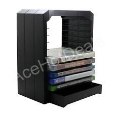 Universal Game and Blu Ray Disc Storage Tower Shelf Stand Kit for Xbox One PS3 P
