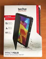 "Tech21 Samsung Galaxy Tab 4 10.1"" Impact Strong Folio FlexShock Case Cover"