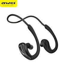Wireless Bluetooth Sports Headset Stereo Headphones Running Earbuds AWEI A880BL