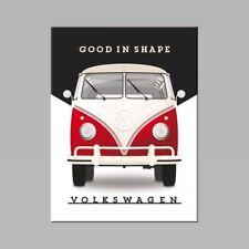 VW Bonne en forme vieux camping-car Volkswagen Van garage 3D qualité