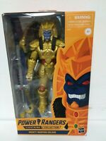 SHIPPING NOW! Mighty Morphin Power Rangers Lightning Collection GOLDAR Hasbro