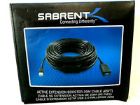 Sabrent USB-X20M Active Extension Booster USB 2.0 65Ft Cable