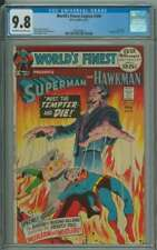WORLD'S FINEST COMICS #209 CGC 9.8 OW/WH PAGES