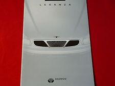 DAEWOO Leganza SX + CDX Prospekt von 2001